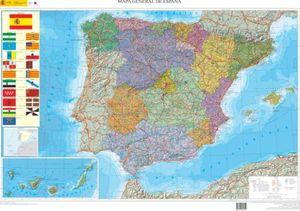 MAPA GENERAL ESPAÑA AUTONOMICO 1:2000000 *