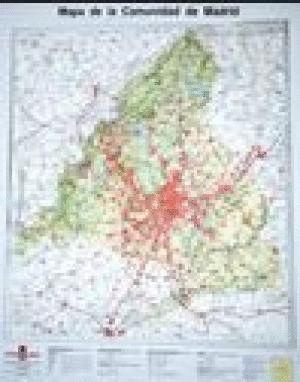 MAPA DE LA COMUNIDAD DE MADRID E 1:250.000 EN RELIEVE *