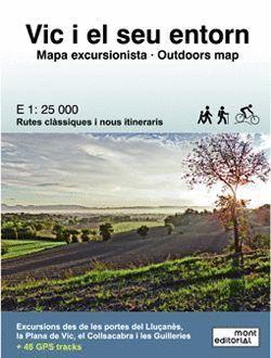 VIC I EL SEU ENTORN + GPS TRACKS. E.1:25,000