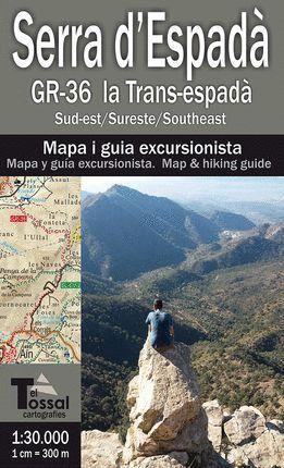 SERRA D'ESPADÀ GR-36 LA TRANS-ESPADÀ E.1:30,000