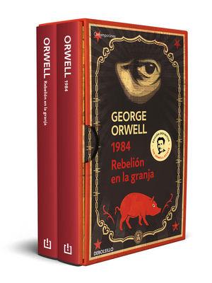 GEORGE ORWELL (PACK CON LAS EDICIONES DEFINITIVAS AVALADAS POR THE ORWELL ESTATE *