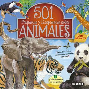 501 PREGUNTAS Y RESPUESTAS SOBRE LOS ANIMALES