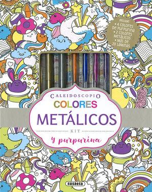 COLORES METÁLICOS Y PURPURINA *