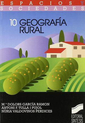 GEOGRAFÍA RURAL *