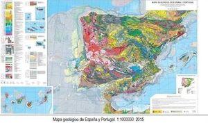 MAPA GEOLÓGICO DE ESPAÑA Y PORTUGAL 1:1.000.000 *