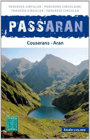 PASSA'ARAN ( COUSERANS - ARAN ) 1:25.000