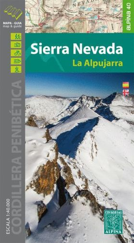 SIERRA NEVADA - LA ALPUJARRA E. 1:25,000