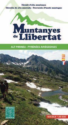 MUNTANYES DE LLIBERTAT E. 1:25,000 ALT PIRINEU- - PYRÉNÉES ARIÉGEOISES
