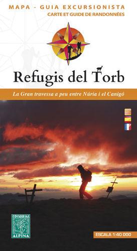 REFUGIS DEL TORB. TRAVESSA NURIA-CANIGÓ E. 1:40,000