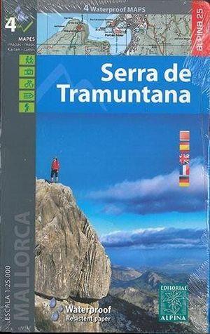 SERRA DE TRAMUNTANA - MALLORCA - GR221. E.1:25,000