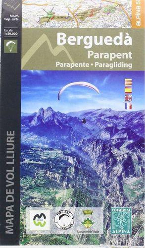 BERGUEDÀ - PARAPENT (MAPA DE VOL LLIURE) 1:50.000