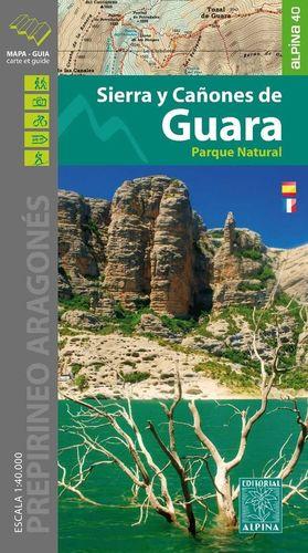 SIERRA Y CAÑONES DE GUARA E. 1:40,000