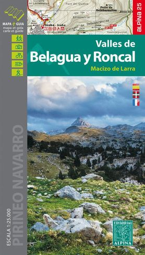 VALLES DE BELAGUA Y RONCAL 1:25.000