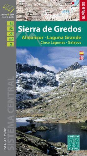 SIERRA DE GREDOS 1:25.000   GUIA+MAPA