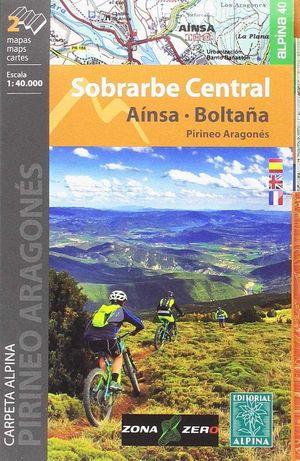 SOBRARBE CENTRAL 1:40.000 AINSA BOLTAÑA [2 MAPAS]