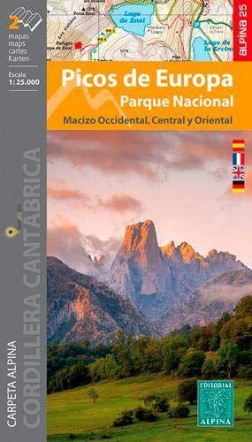 PICOS DE EUROPA 1:25.000 [2 MAPAS] PARQUE NACIONAL