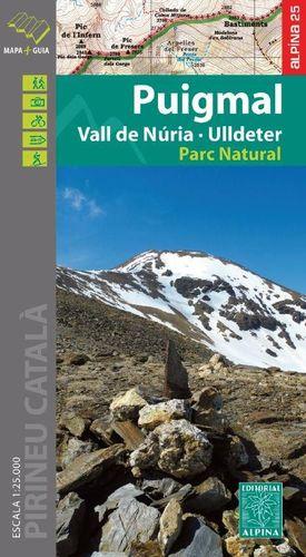 PUIGMAL - VALL DE NURIA - ULLDETER 1:25,000