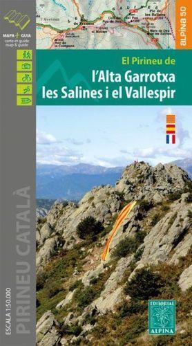 ALTA GARROTXA LES SALINES I EL VALLESPIR 1:50.000
