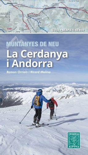 CERDANYA I ANDORRA. MUNTANYES DE NEU (1:40.000)