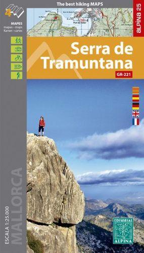 SERRA DE TRAMUNTANA [4 MAPES] 1:25.000