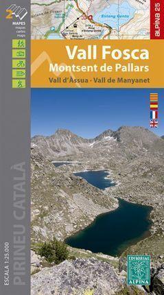 VALL FOSCA - MONTSENT DE PALLARS 1:25.000