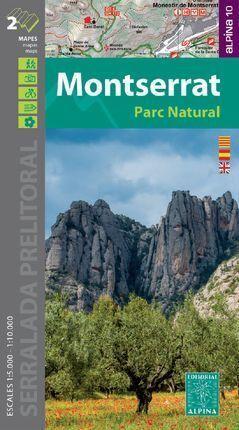 MONTSERRAT - PARC NATURAL  (1:10.000 ; 1:5.000)