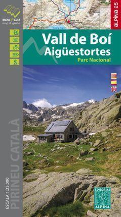 VALL DE BOI - AIGUESTORTES  1:25.000