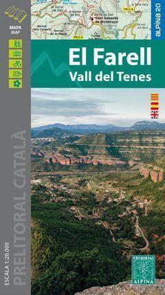 EL FARELL - VALL DEL TENES 1:20.000