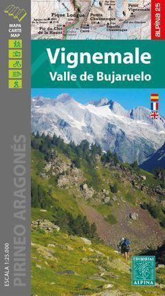 VIGNEMALE - VALLE DE BUJARUELO  1:25.000