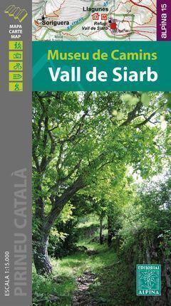 VALL DE SIARB. MUSEU DE CAMINS  1:15.000
