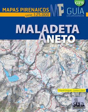 MALADETA Y ANETO. E. 1:25,000