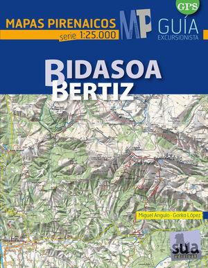 BIDASOA-BERTIZ (1:25000) *