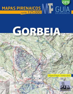 GORBEIA. MAPAS PIRENAICOS (1:25000)