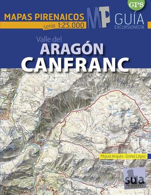 VALL DEL ARAGON CANFRANC 1:25.000