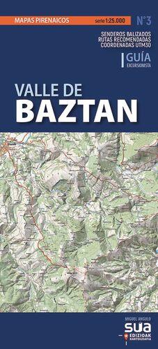 VALLE DE BAZTAN 1:25.000 *