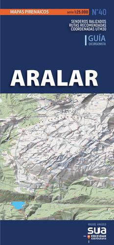 ARALAR. MAPAS PIRENAICOS (1: 25.000) *