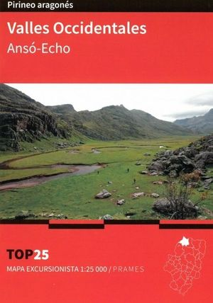 VALLES OCCIDENTALES ANSO ECHO  1:25.000 (PIRINEO ARAGONES) *
