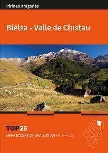 BIELSA-VALLE DE CHISTAU 1:25,000