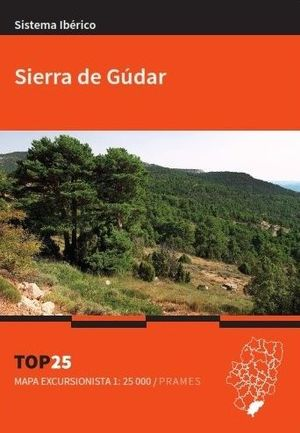 SIERRA DE GÚDAR 1:25,000