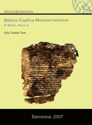 BIBLICA COPTICA MONTSERRATENSIA *