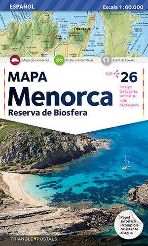 MENORCA RESERVA DE LA BIOSFERA 1:60,000 (MM-E)