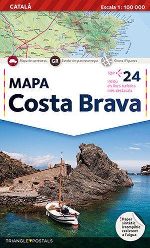MAPA COSTA BRAVA ( MCB-C  )