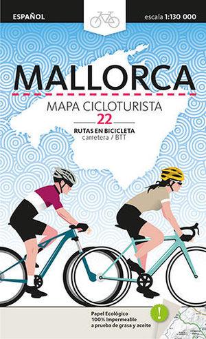 MAPA CICLOTURISTA MALLORCA