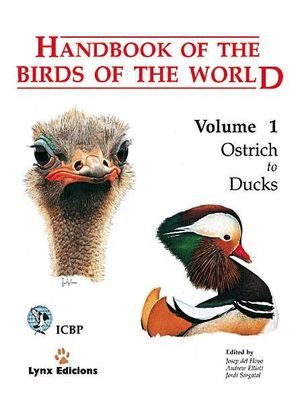 HANDBOOK OF THE BIRDS OF THE WORLD. VOL.1 *