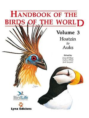 HANDBOOK OF THE BIRDS OF THE WORLD. VOL.3 *