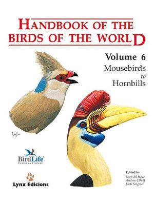 HANDBOOK OF THE BIRDS OF THE WORLD. VOL.6 *