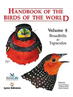 HANDBOOK OF THE BIRDS OF THE WORLD. VOL.8 *