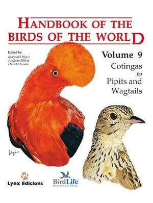 HANDBOOK OF THE BIRDS OF THE WORLD. VOL.9 *