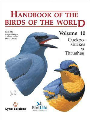 HANDBOOK OF THE BIRDS OF THE WORLD. VOL.10 *
