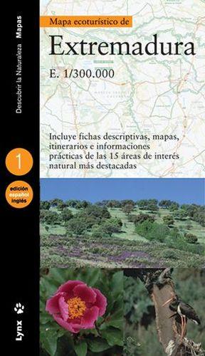 MAPA ECOTURÍSTICO DE EXTREMADURA (CASTELLANO / INGLÉS) *